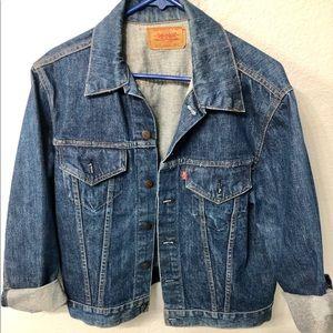 "Vintage Levi's Jean Jacket 70505 0217 Size 42"""